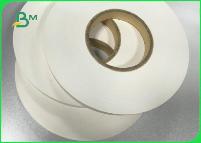 60gsm 120gsm White Printable Slitted Paper Roll Food Grade for Paper Straw
