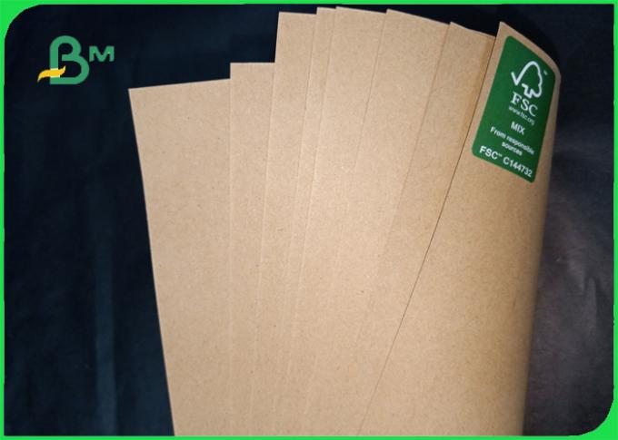 160gsm size 70*100cm FSC support wood pulp brown kraft paper for envelope