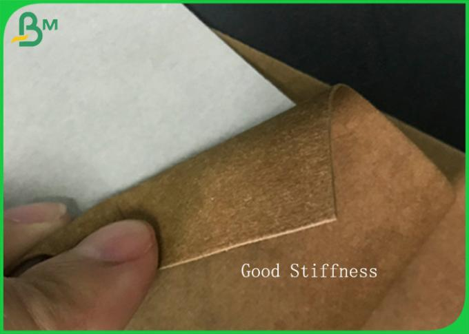 Biodegradable Fabric Material Textured Washable Paper Roll 0.3mm - 0.8mm